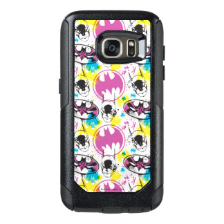 Batman Color Code Pattern 3 OtterBox Samsung Galaxy S7 Case