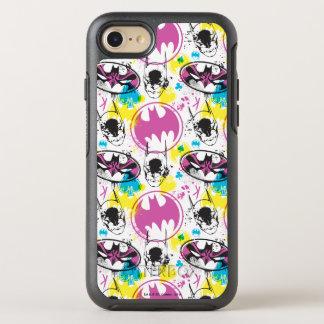 Batman Color Code Pattern 3 OtterBox Symmetry iPhone 7 Case