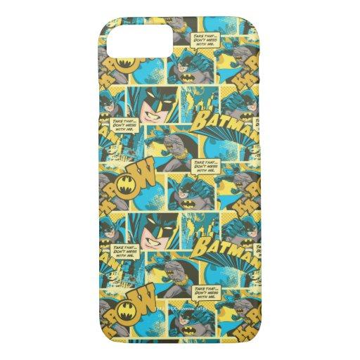Batman Comic Capers Pattern 2 iPhone 8/7 Case