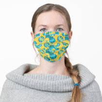 Batman Comic Capers Pattern 3 Adult Cloth Face Mask