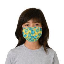 Batman Comic Capers Pattern 3 Kids' Cloth Face Mask