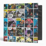 Batman Comic Panel 5x5 3 Ring Binder