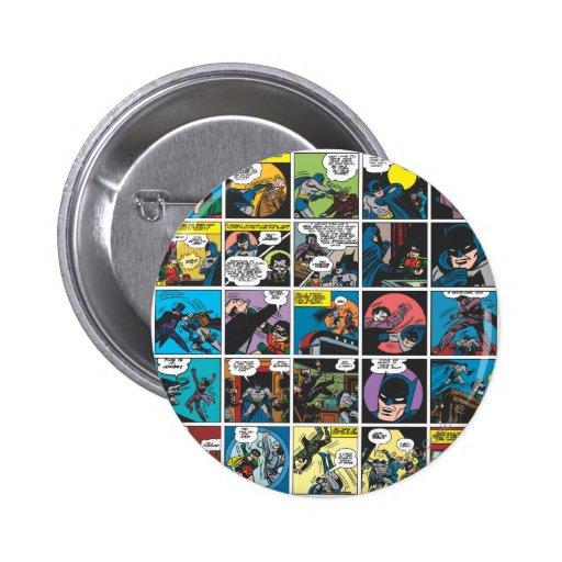 Batman Comic Panel 5x5 Button