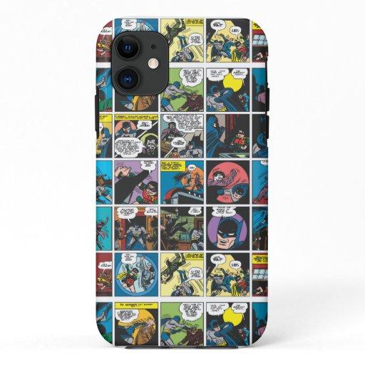 Batman Comic Panel 5x5 iPhone 11 Case