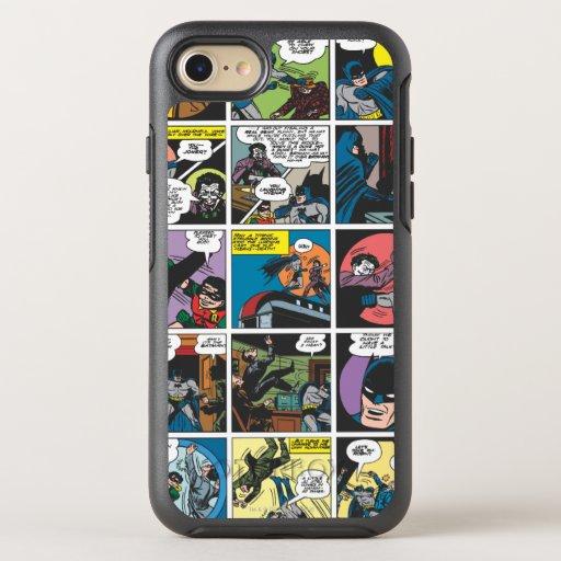 Batman Comic Panel 5x5 OtterBox Symmetry iPhone 8/7 Case