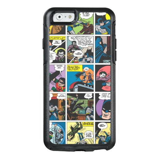 Batman Comic Panel 5x5 OtterBox iPhone 6/6s Case