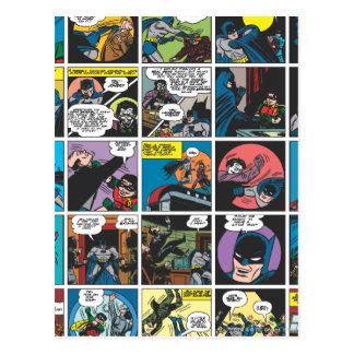 Batman Comic Panel 5x5 Postcard