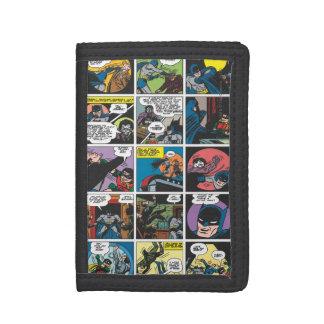 Batman Comic Panel 5x5 Trifold Wallet