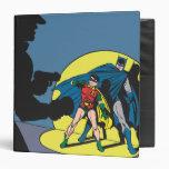 Batman Comic - with Robin 3 Ring Binder