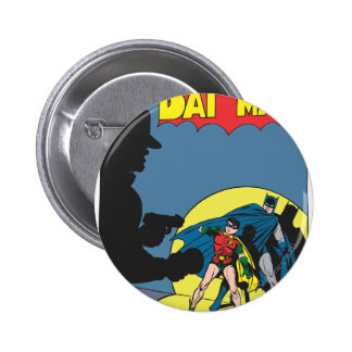 Batman Comic - with Robin Button