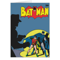 Batman Comic - with Robin Card