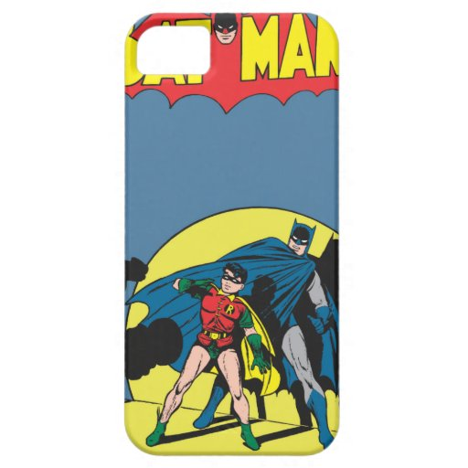 Batman Comic - with Robin iPhone SE/5/5s Case