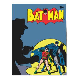 Batman Comic - with Robin Postcard