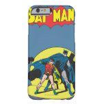 Batman cómico - con el petirrojo funda de iPhone 6 barely there
