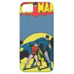 Batman cómico - con el petirrojo iPhone 5 fundas