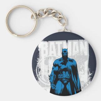Batman cómico - vintage a la vista llavero