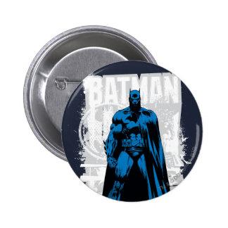Batman cómico - vintage a la vista pin redondo de 2 pulgadas
