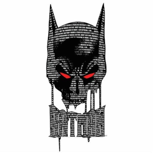 Batman con mantra esculturas fotográficas
