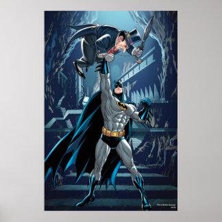 Batman contra pingüino posters