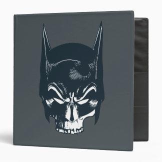 Batman Cowl Skull Icon 3 Ring Binders