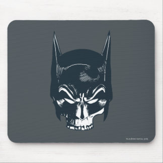 Batman Cowl/Skull Icon Mouse Pad