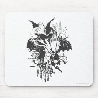 Batman Crawling Forward Mouse Pad