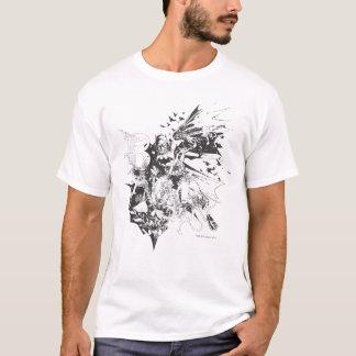 Batman Crazy Collage T-Shirt