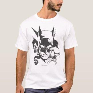Batman Crest Design T-Shirt