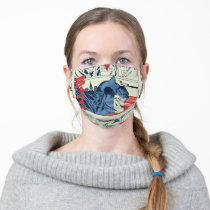 Batman Crime Fighting Comic Book Page Adult Cloth Face Mask