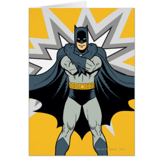 Batman Cross Arms Card