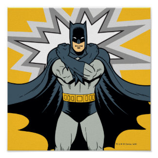Batman Cross Arms Poster