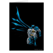 Batman Crouches Card