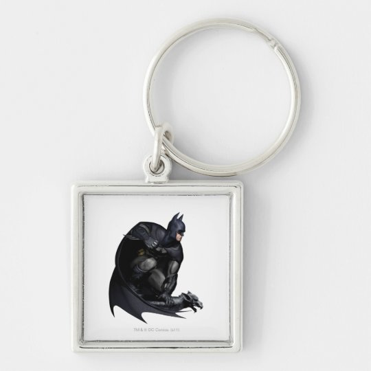 Batman Crouching Keychain