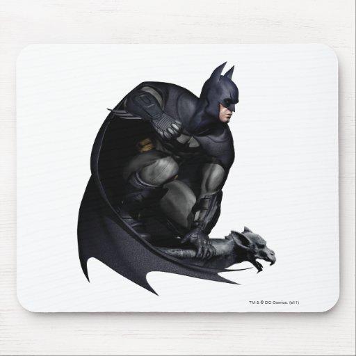 Batman Crouching Mouse Pad