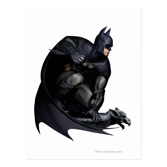 Batman Crouching Postcard