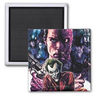 Batman - cubierta Unhinged Arkham #11 Imán Cuadrado
