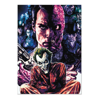 """Batman - cubierta Unhinged Arkham #11 Invitación 5"""" X 7"""""""
