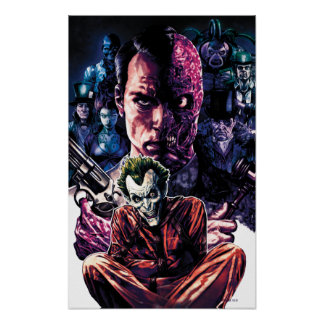 Batman - cubierta Unhinged Arkham #11 Posters