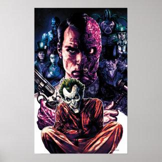 Batman - cubierta Unhinged Arkham 11 Posters