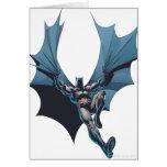 Batman - cuerda enredada tarjeta de felicitación
