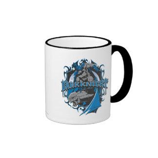 Batman Dark Knight | Blue Grey Logo Ringer Mug