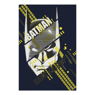 Batman Dark Knight Futuristic Poster