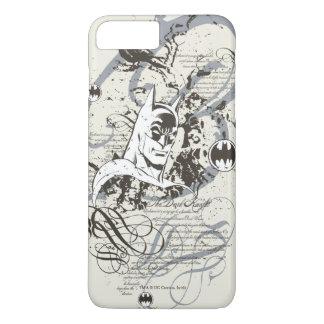 Batman Dark Knight Manuscript Montage iPhone 7 Plus Case