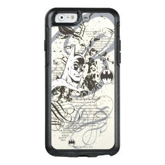 Batman Dark Knight Manuscript Montage OtterBox iPhone 6/6s Case