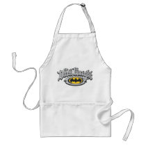 Batman Dark Knight | Name and Oval Logo Adult Apron