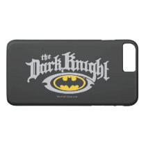 Batman Dark Knight | Name and Oval Logo iPhone 8 Plus/7 Plus Case