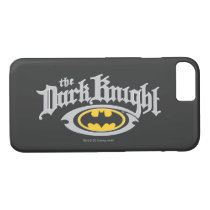 Batman Dark Knight | Name and Oval Logo iPhone 8/7 Case