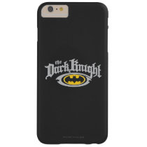 Batman Dark Knight | Name and Oval Logo Barely There iPhone 6 Plus Case