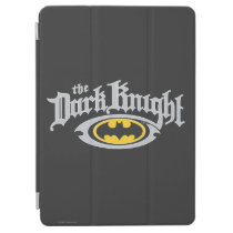 Batman Dark Knight | Name and Oval Logo iPad Air Cover