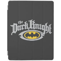 Batman Dark Knight | Name and Oval Logo iPad Smart Cover
